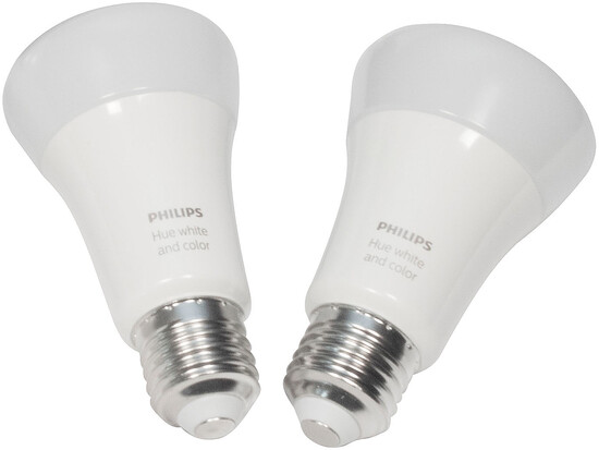 Philips Hue White & Color Ambiance E27 2er-Set